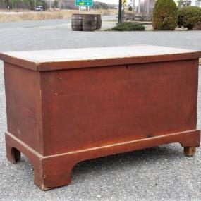 Pine antique box