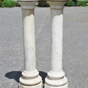 Alabaster column