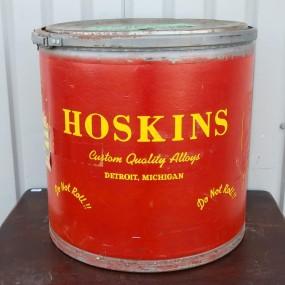 Contenant, boîte Hoskins