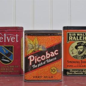 Contenants à tabac ( picobac vendu )