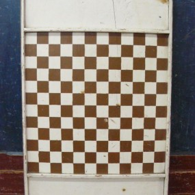 Antique checkerboard
