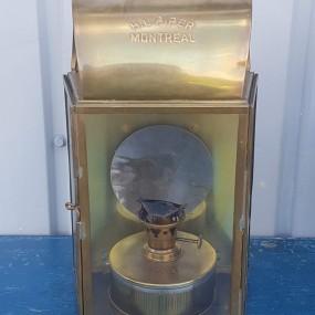 Reproduction brass lantern