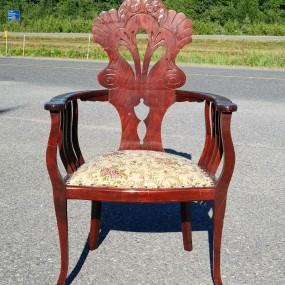 Fauteuil, chaise rembourrée