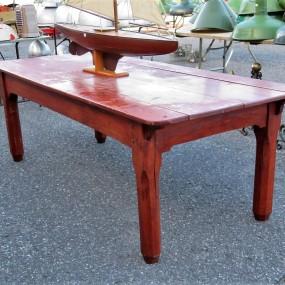 Grande table rustique (reproduction)