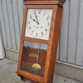 Antique Arthur Pequegnat wall clock