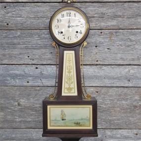 Horloge murale, banjo