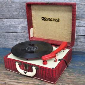 #29786 -  Tourne-disque Monach, gramophone