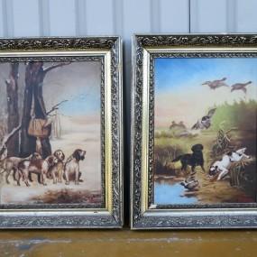 #32134 -  Tableaux signés Pelletier, peintures