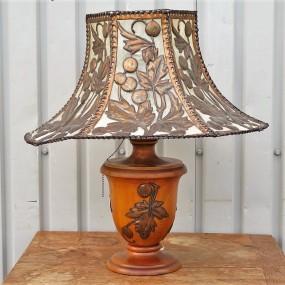 Lampe artisanale
