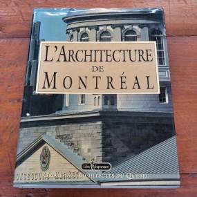 L'architecture de Montréal, Book