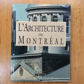 L'architecture de Montréal book