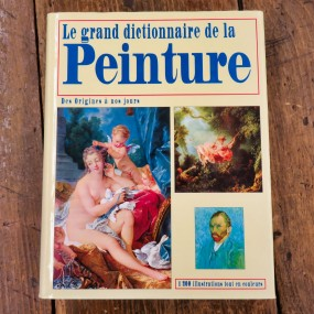 Livre, Le grand dictionnaire de la peinture