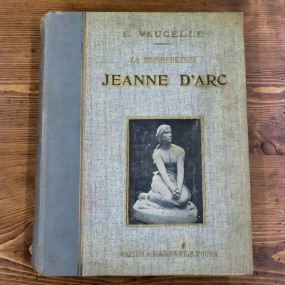 Book about Jeanne d'Arc