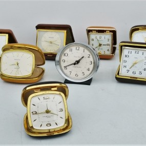 Lot of old dial clocks