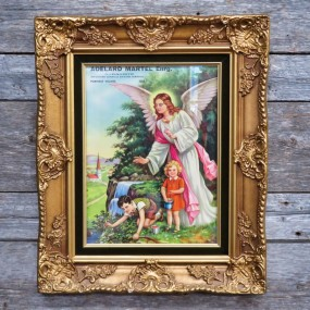 Nice frame with angel picture