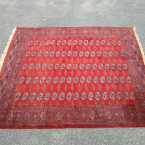 Magnifique tapis tissé