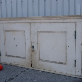 Pine armoire parts, cupboard