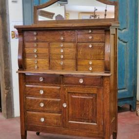 Dentist filing binder cabinet