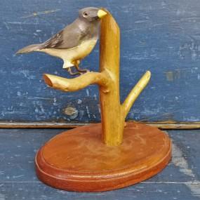Oiseau, sculpture art populaire