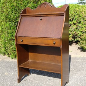 Bookcase desk