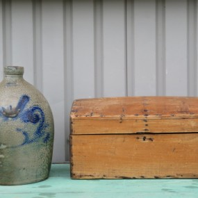 St-Johns little jug (sold) and document box