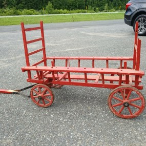 Petite voiturette à chien, wagon express