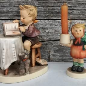 Porcelain statues