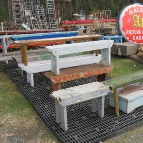 Plusieurs bancs de galerie de disponibles