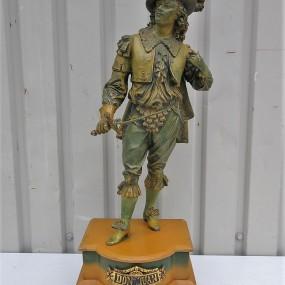 Régule, statue de Don Juan (cassée à la base et lame d'épée changée)