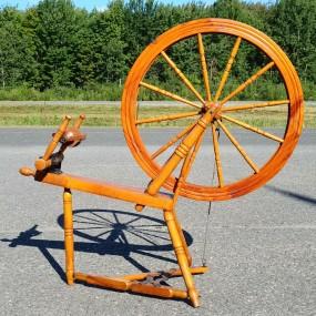 Wool spinnig wheel