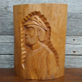 Low relief carving, folk art sculpture