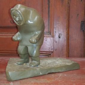Inuit sculpture carving, sculpture