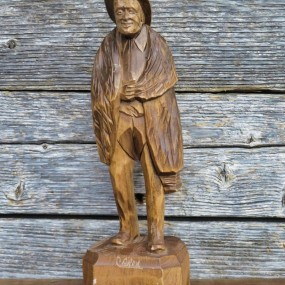 Paul-Émile Caron sculpture, carving