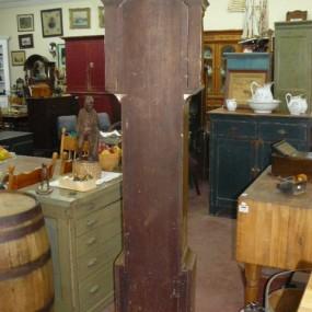 Magnifique horloge grand-père R. Whiting Winchester