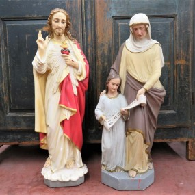 Statues religieuses en plâtre
