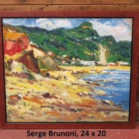 Serge Brunoni painting