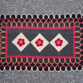 folk art rug