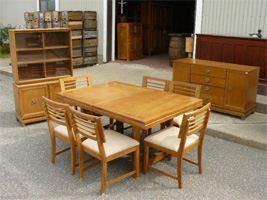 Vintage set of dining room