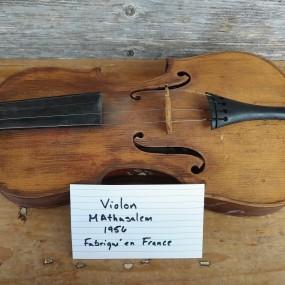 French violin, Mathusalem
