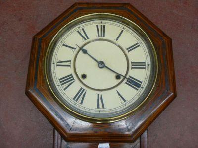 ancienne horloge murale. Black Bedroom Furniture Sets. Home Design Ideas
