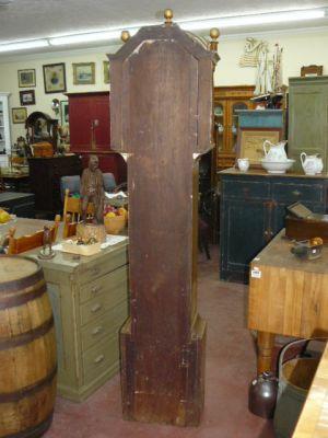 Magnifique horloge grand-père R. Whiting Winchester 4