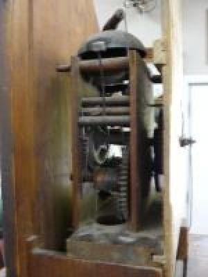 Magnifique horloge grand-père R. Whiting Winchester 3