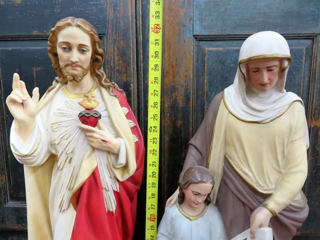 Statues religieuses en plâtre 2