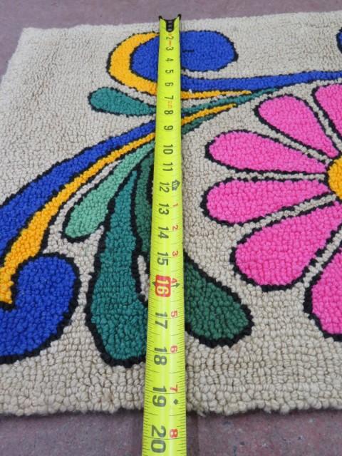 Tapis crocheté 2