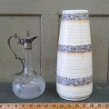 West Germany vase and carafe - 1