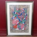 Tableau, peinture signée Rubin - 1