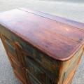 Armoire bahut en pin, chevilles de bois - 4
