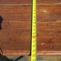 Armoire bahut en pin, chevilles de bois - 8
