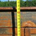 Armoire bahut en pin, chevilles de bois - 10