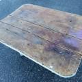 Table rustique avec tiroir - 2